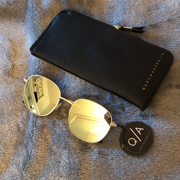 31c4bba0553 Quay Gold Jezabell Sunglasses